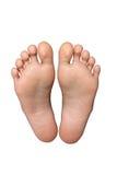 Paires de pieds Photos libres de droits
