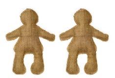 Paires de poupées Photo libre de droits