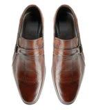 Paires des chaussures de l'homme Images libres de droits