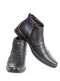 Paires des chaussures de l'homme de couleur Image libre de droits