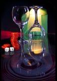 Paires en verre Image stock