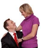 Paires, mari et épouse de ménage Image libre de droits