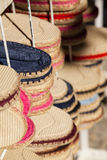 Espadrilles Sandals. Pairs of typical basque sandals called Espadrilles Royalty Free Stock Image