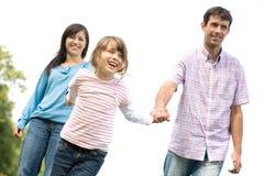 Pais com filha Imagem de Stock Royalty Free