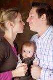 Pais felizes Imagem de Stock Royalty Free