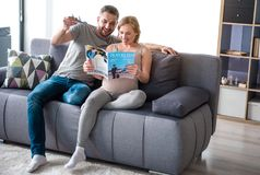 Pais futuros alegres que sonham da viagem Imagem de Stock Royalty Free