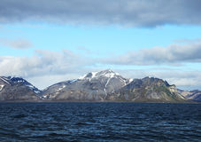 Paisagem ártica em Spitsbergen (Svalbard) Imagens de Stock Royalty Free