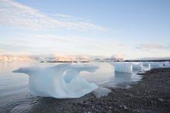 Paisagem ártica - gelo Imagem de Stock
