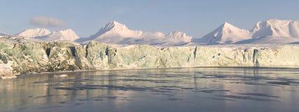 Paisagem ártica - PANORAMA Foto de Stock Royalty Free