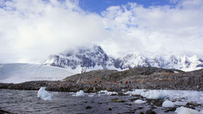 Paisagem ártica, Svalbard Imagens de Stock Royalty Free
