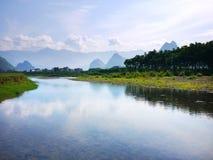 Paisagem 03 de Guilin Fotos de Stock Royalty Free
