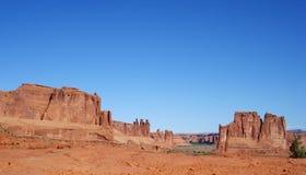 Paisagem 2 de Moab Foto de Stock