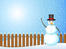 Paisagem 2 do inverno Imagens de Stock