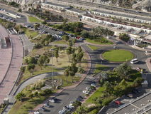 Paisagem aérea da cidade Fotografia de Stock