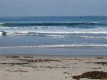 Paisagem abstrata do oceano Foto de Stock
