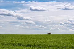 Paisagem agrícola do campo francês imagem de stock royalty free