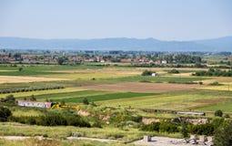 Paisagem agricultural Foto de Stock Royalty Free