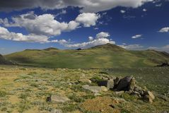 Paisagem alpina Fotografia de Stock