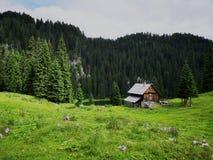 Paisagem alpina bonita e calma em slovenia Fotografia de Stock