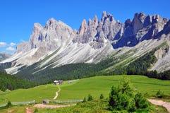 Paisagem alpina do verão Fotografia de Stock Royalty Free