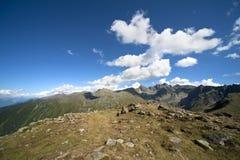 Paisagem alpina em Áustria Foto de Stock