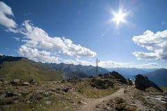 Paisagem alpina em Áustria Imagem de Stock