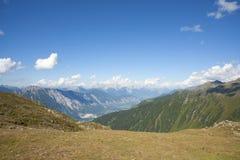 Paisagem alpina em Áustria Imagens de Stock Royalty Free