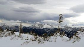 Paisagem alpina por Hochkar em Áustria Foto de Stock
