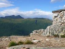 Paisagem Andalsnes Nesaksla de Noruega Imagens de Stock
