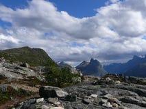 Paisagem Andalsnes Nesaksla de Noruega Fotografia de Stock