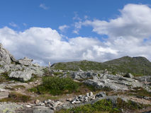 Paisagem Andalsnes Nesaksla de Noruega Foto de Stock Royalty Free