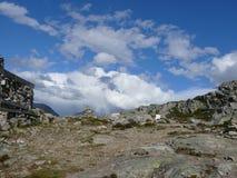 Paisagem Andalsnes Nesaksla de Noruega Imagens de Stock Royalty Free