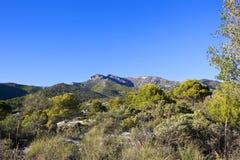 Paisagem andaluza bonita da montanha Foto de Stock Royalty Free
