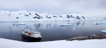 Paisagem antártica Foto de Stock Royalty Free