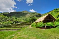 Paisagem antiga peruana da cidade Fotos de Stock