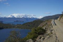 Paisagem ao longo do Carretera Austral, o Chile Fotos de Stock Royalty Free