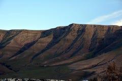 Paisagem ao norte de Lanzarote Montanha do EL Risco Ilhas Canárias spain Imagens de Stock Royalty Free