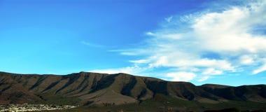 Paisagem ao norte de Lanzarote Montanha do EL Risco Ilhas Canárias spain Fotografia de Stock