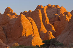 A paisagem arqueia o parque nacional Fotos de Stock Royalty Free