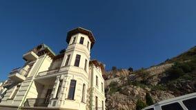 Paisagem arquitetónica do aluguer antigo filme