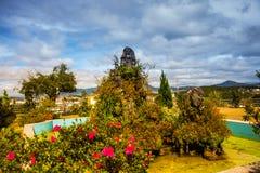 Paisagem As montanhas e os montes verão Vietname, Dalat Fotos de Stock Royalty Free