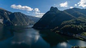 Paisagem austríaca bonita Imagem de Stock Royalty Free