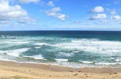 Paisagem australiana do oceano Fotografia de Stock Royalty Free