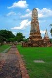 Paisagem Ayutthaya histórico em Ayutthaya O tem famoso Fotos de Stock