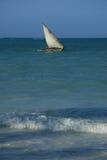 Paisagem azul do mar Fotografia de Stock