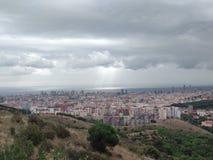 Paisagem Barcelona fotografia de stock