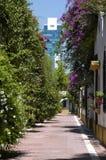 Paisagem Belgrano da cidade fotografia de stock royalty free