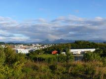 Paisagem Bodo de Noruega Imagem de Stock