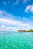 Paisagem bonita da ilha tropical Fotos de Stock Royalty Free
