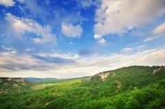 Paisagem bonita da montanha Imagens de Stock